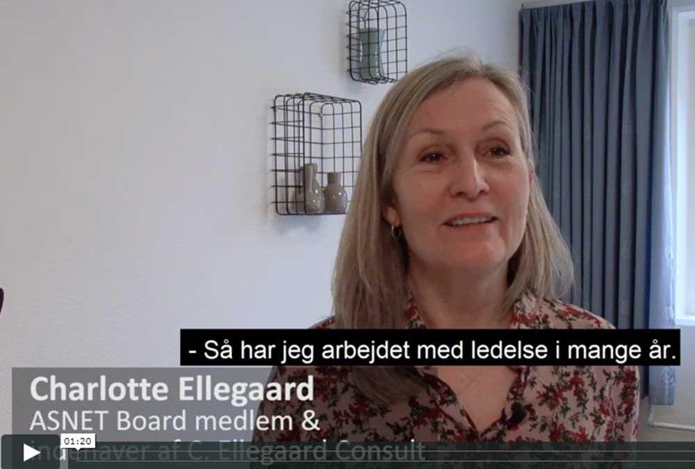 Reference med bestyrelsesmedlem og konsulent, Charlotte Ellegaard