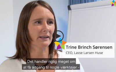 Reference med CEO og bestyrelsesmedlem, Trine Brinch Sørensen