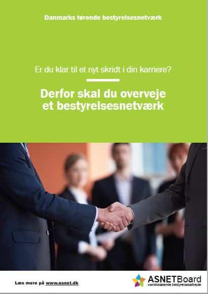 Derfor skal du overveje et bestyrelsesnetværk | ASNET