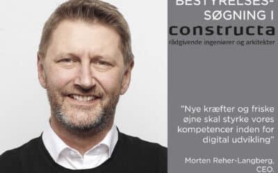 """Direktøren i Constructa: """"Nye kræfter og friske øjne skal styrke vores kompetencer inden for digital udvikling"""""""
