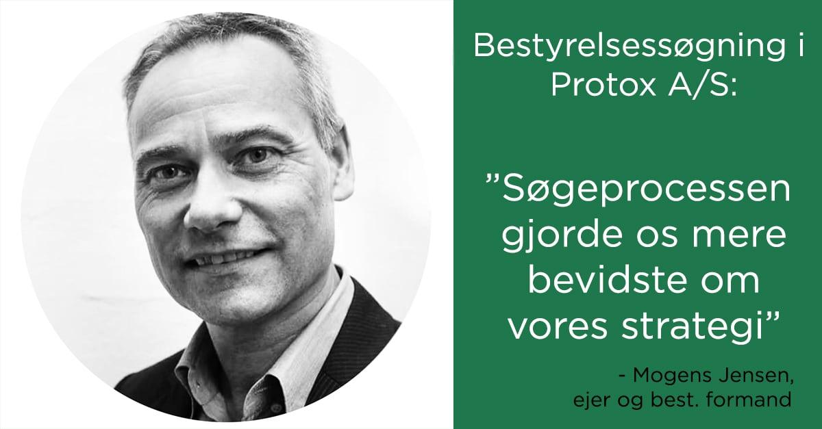 Mogens Jensen fra Protox: vi blev mere bevidste om vores strategi